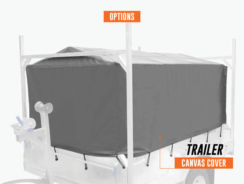 Trailer Canvas Cover