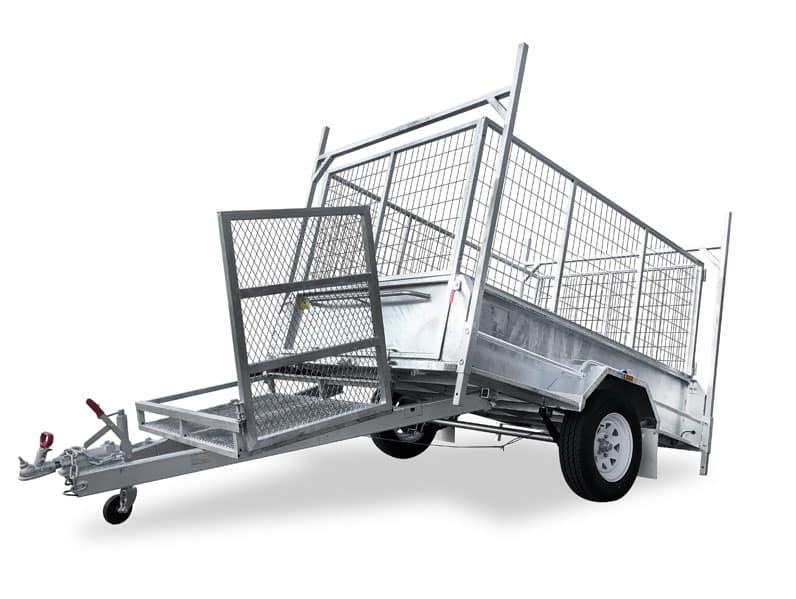 heavy duty box trailer brisbane