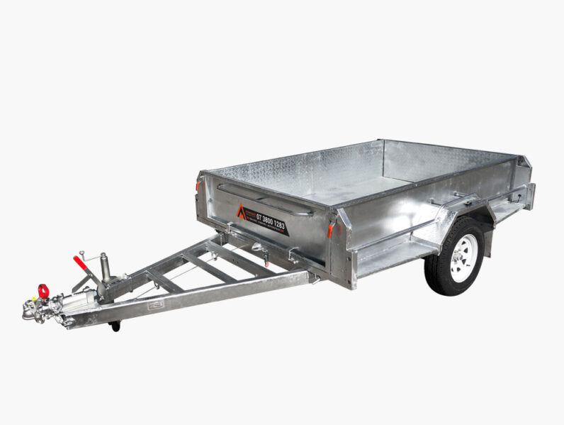 heavy duty braked trailer for sale