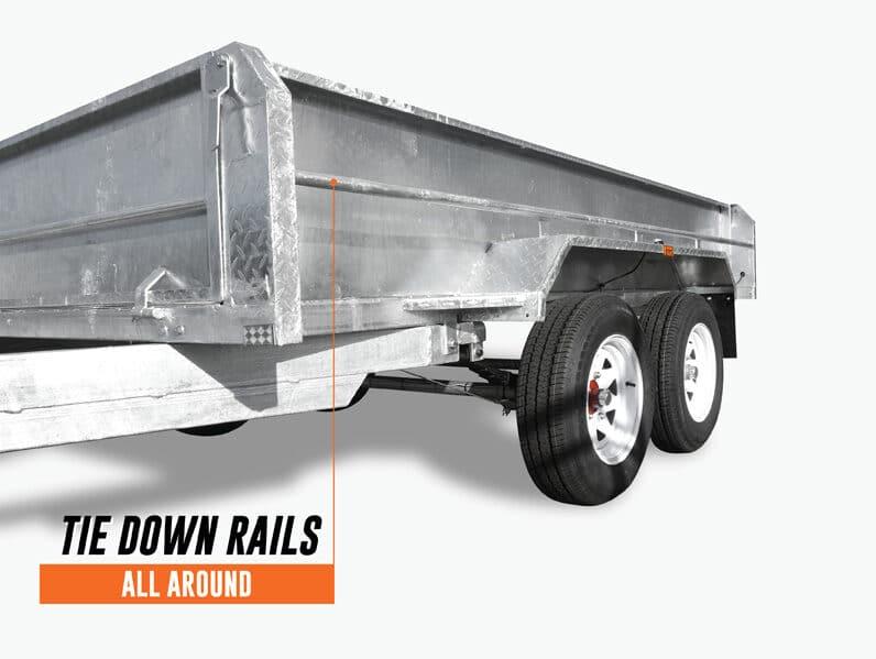 tie down rails