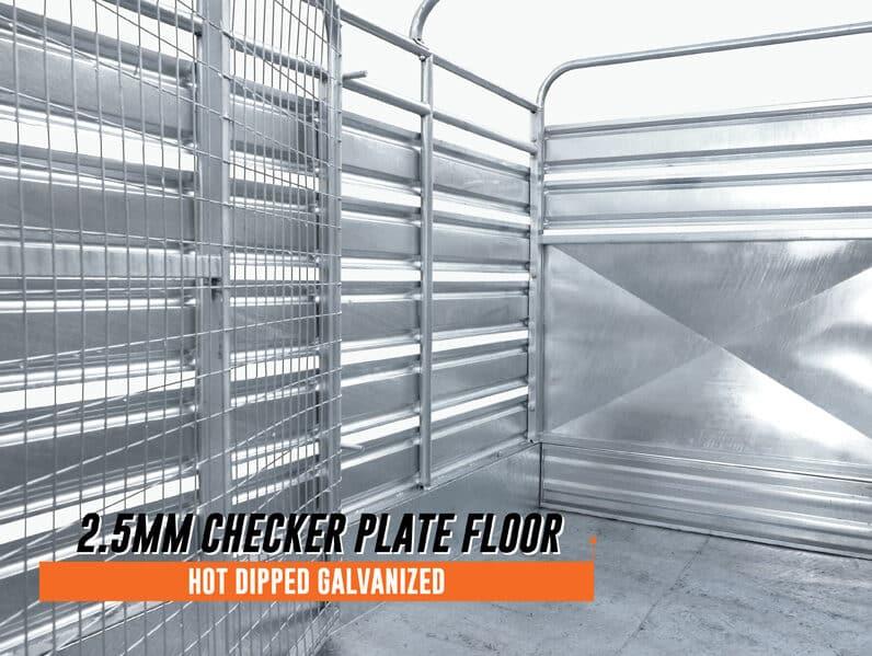 checker plate floor