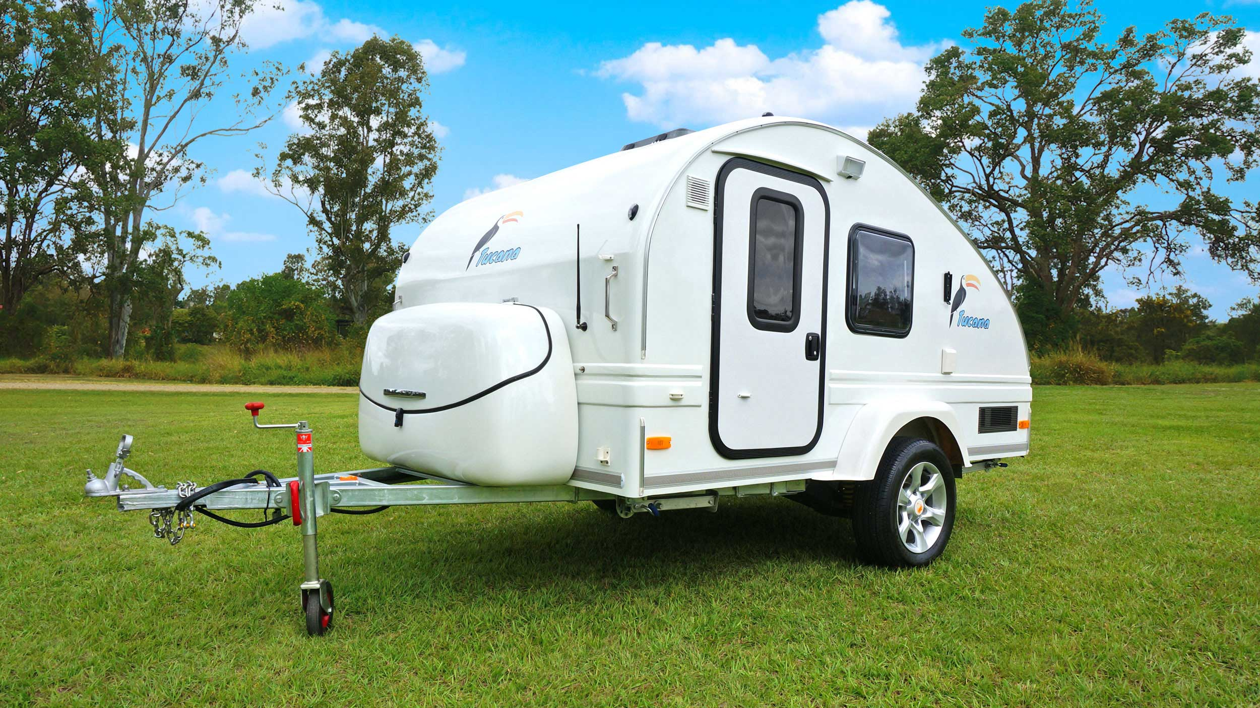 Tucana Teardrop Camper Ultra Light Weight Trailer Large