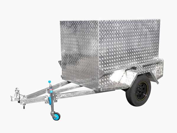 luggage trailer tradie trailer