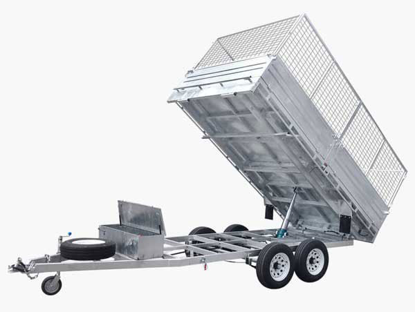 tipper trailer flat deck trailer flat top trailer