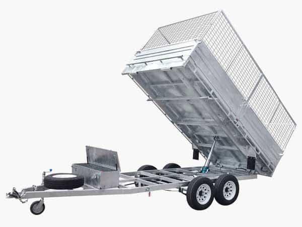 tipper trailer flat deck trailer flat top trailer