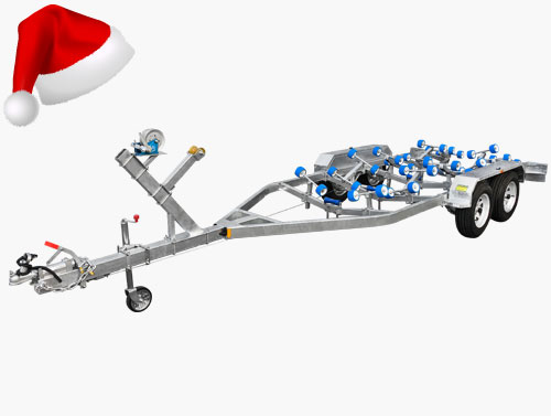 tandem axle boat trailers