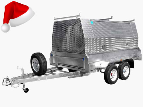 tandem axle builders trailers