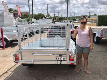 box trailer customers brisbane