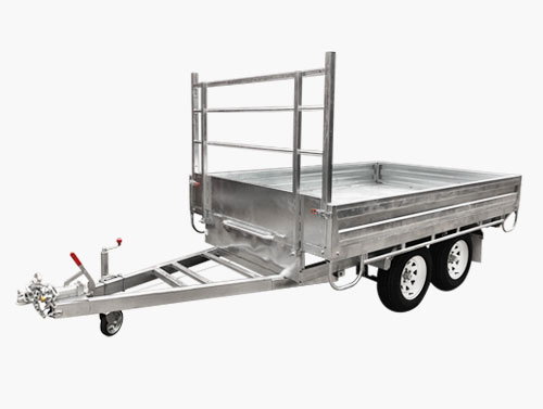 flat top flat bed trailer