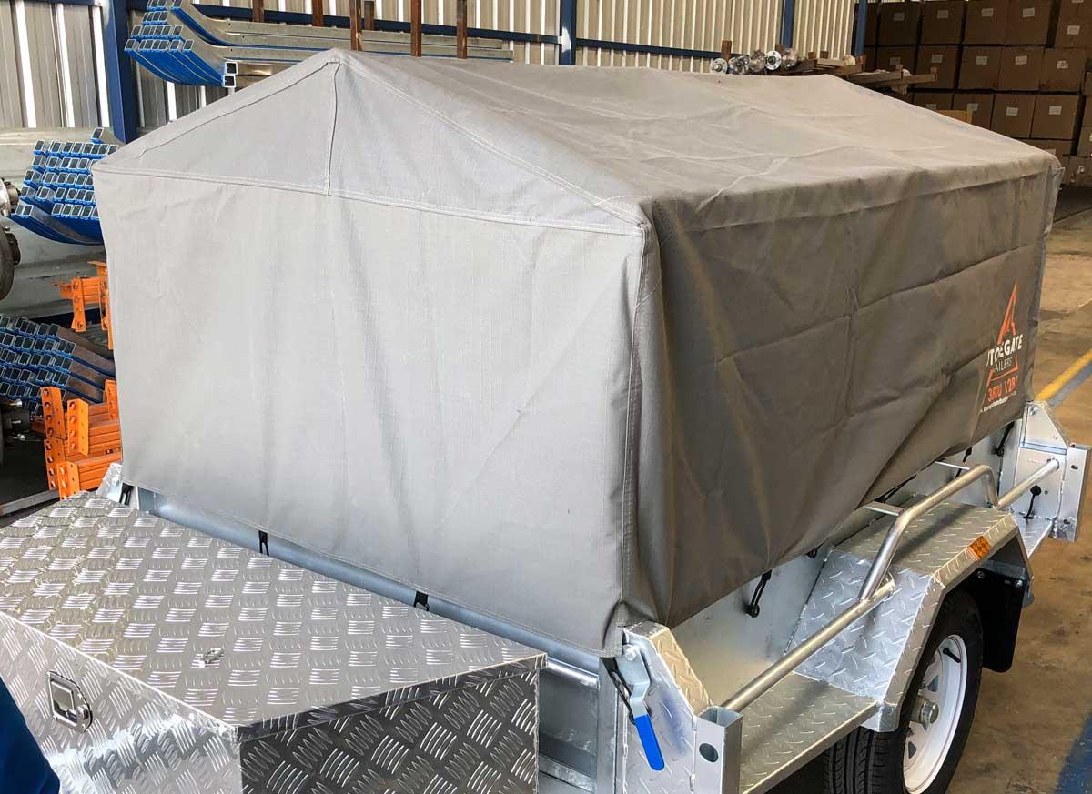 trailer canvas cover brisbane
