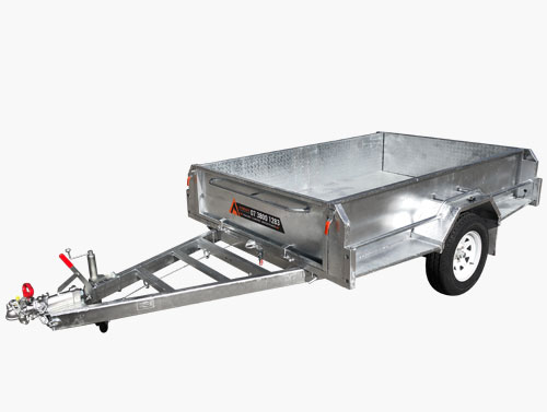 heavy duty box trailer