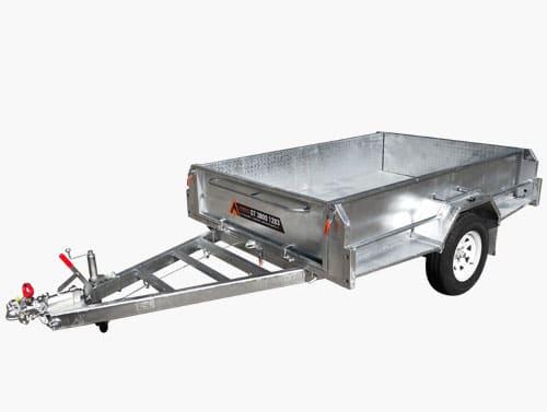 heavy duty box trailer