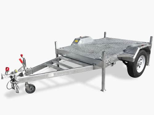 flat top flat deck trailer