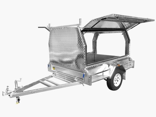 Tradesman box trailer