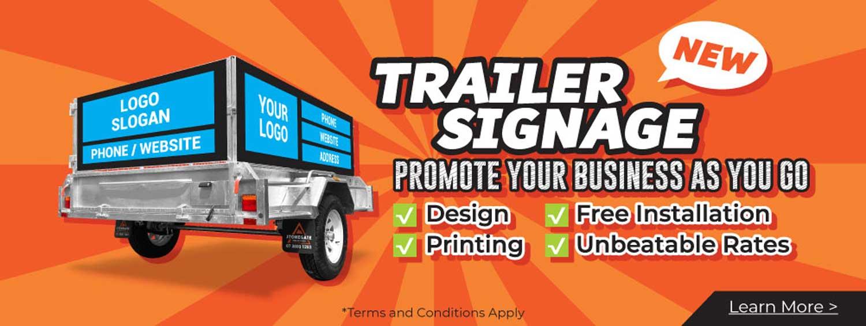 trailer signage